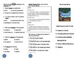 The Harvest Birds Comprehension Tri-fold: Journeys Grade 3