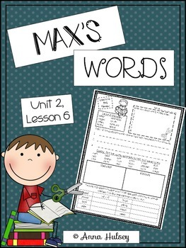 Max's Words (Skill Practice Sheet)