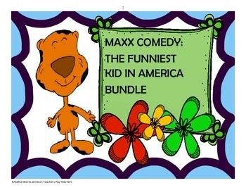 Maxx Comedy: The Funniest Kid in America Bundle+ Packet