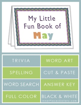 My Little Fun Book of May Helps Reinforce the Months of the Year