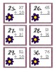 Flower 2 Digit, No Regrouping Addition Task Cards