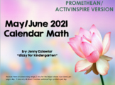 May/June 2018 Calendar for the Promethean Board (ActivBoard)