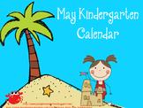 May Kindergarten Calendar for ActivBoard