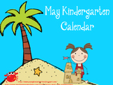 May Kindergarten Calendar for ActivBoard