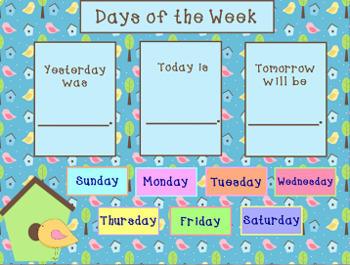 May 2018 Activboard Calendar Activities