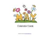 May 2015 Calendar Cards