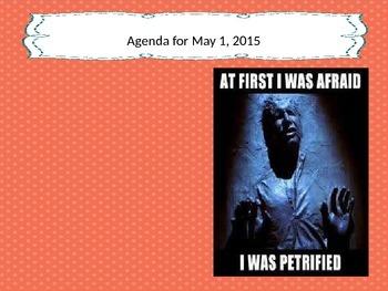 May 2015 Meme Calendar