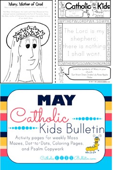 May 2017 Catholic Kids Bulletin