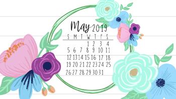 free download calendar may 2019
