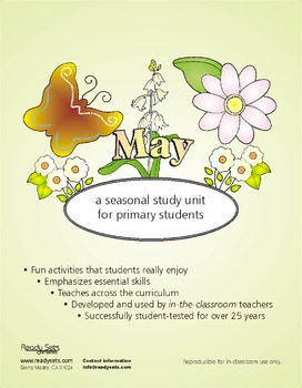 May 32-Page Thematic Lesson Plans Booklet