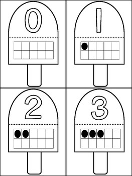 May! 7 Math Centers for Counting & Cardinality! Count & Recognize Numbers!