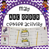 May ABC Order Center