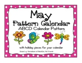 May ABCD Calendar Pattern