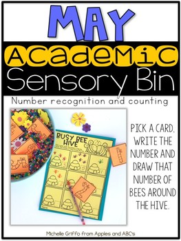 May Academic Sensory Bin