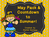 May Activity Pack and End of Year Countdown to Summer!