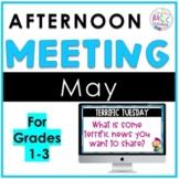 May Afternoon Meeting
