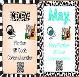 May- Animals & Sandra Markle Books - QR Code Comprehension