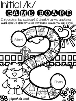 May Articulation Game Boards {Print and go}