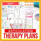 May Articulation Therapy Plans