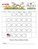 May Behavior Calendar