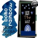 May Boho Rainbow Door Decoration Set Bulletin Board Light