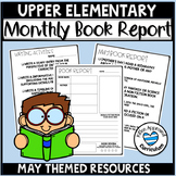 Fun Writing Activities for 4th Grade Templates Genre Book Report Project