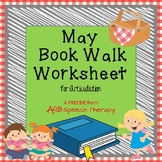 May Book Walk Worksheet