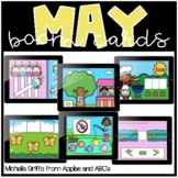 May Boom Cards / Morning Work for Distance Learning