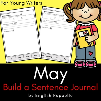 May Build a Sentence Journal for Young Writers