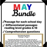 May Bundle-Day in History Differentiated Reading Passage O
