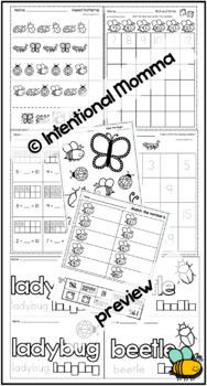 May Bundle, Pre-K and Kindergarten: Insects, Summer, Cinco de Mayo, School Nurse