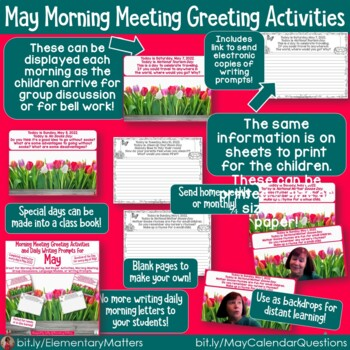 May Bundle for Science, Social Studies, and Reading Activities