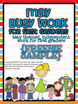 May Busy Work {FREEBIE}