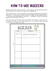 Buzzer Packet MAY (Bell Work-Journal) Common Core Writing Prompts