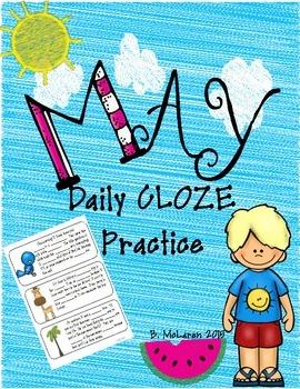 May CLOZE Practice