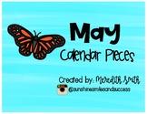 May Calendar Set