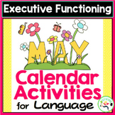 May Calendar Activities - Language