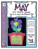 May Calendar Grid 2021