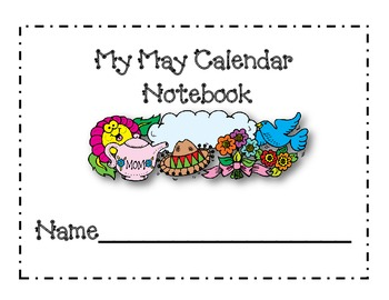 May Calendar Journal Pages