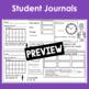 May Calendar Math Student Journal