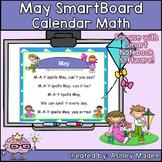 May Calendar Math/Morning Meeting for SMARTBoard