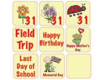 May Calendar Packet
