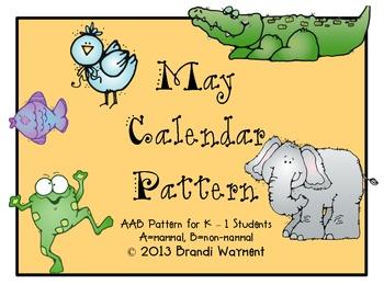May Calendar Pattern