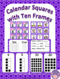 May Calendar Pieces Set With Ten Frame That Encourages Math Talk
