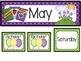 May Calendar Set-Polka Dots
