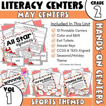 May Centers--2nd Grade ELA