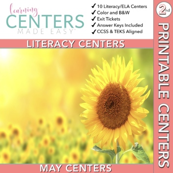 May Centers--2nd Grade ELA ONLY