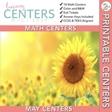 May Centers--2nd Grade MATH ONLY