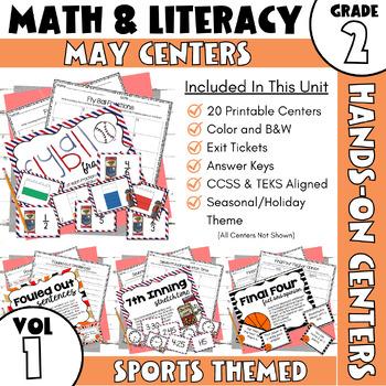 May Centers--2nd Grade Math and ELA