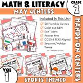 May Centers -- 2nd Grade Math and ELA